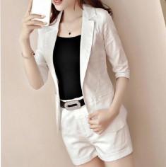 Bộ vest short kèm áo thun và nịt - K206