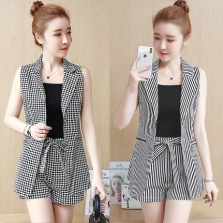 Bộ vest short cá tính (kèm áo thun) - K244
