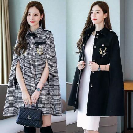 Áo choàng thêu phong cách -H141